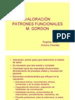 VALORACIÓN PATRONES FUNCIONALES M.GORDON