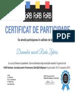Certificat Forb