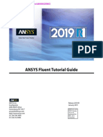 ANSYS Fluent Tutorial Guide 2019