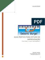 Guia prático para estudo de improvisação (Débora Gurgel)