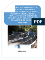 4. ESTUDIO DE CARACTERIZACION (1)