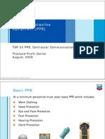 TSP24-PPE - Chevron Thailand Communication