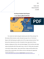 The Diaoyu-Senkaku Islands Dispute