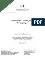On International Law