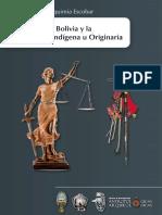 La Justcia en Bolivia y La Jurisdicción Indígena u Originaria, René Guery Chuquimia Escobar