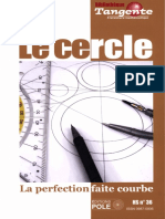 (Bibliothèque Tangente) Collectif-Le Cercle _ La Perfection Faite Courbe-Pole (2009)