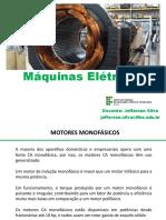 MAQ - Aula - 13 - Máquinas Monofásicas