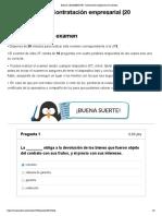 Examen_ [EXAMEN] UF2. Contratación empresarial (20 minutos)MARTES19