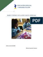 EDUCACIÓN ESPECIAL Y REHABILITACIÓN2