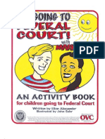 I'm Going to Federal Court Coloring Book