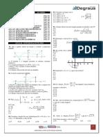 Matemática I - Exercícios