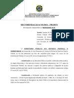 Recomendação 03 - Imunização IGESDF