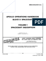 Apollo Operations Handbook Block II Spacecraft Volume 1