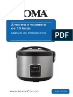 aroma-10-cup-cool-touch-rice-cooker-food-steamer-manual-de-usuario