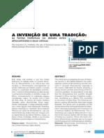 A_INVENCAO_DE_UMA_TRADICAO
