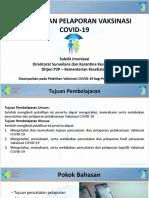 4. Pencatatan Pelaporan Vaksinasi COVID-19