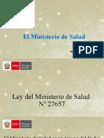 CLASE 6 El Ministerio de Salud