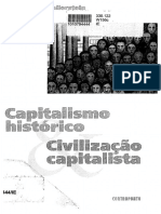 Immanuel Wallerstein - Capitalismo Histórico... - Contraponto, 2001