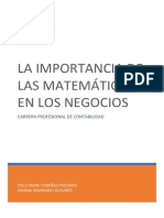 monografia , matematica para la gestion