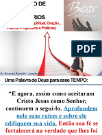 ENCONTRO DE LÍDERES E VOLUNTÁRIOS