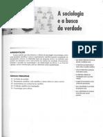 4. DIAS, Reinaldo. A sociologia e a busca da verdade. p. 43-58