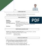 ajay resume