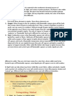 fire fighting notes