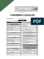 Normas Legal de Construcciòn
