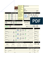 Pathfinder 2e Character Sheet