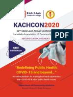 KACHCON_2020 on 21st, 22nd & 23rd December