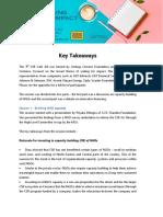 CSR Cafe 7- Key Takeaways (1)