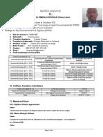 CV Combinatoire embolo enyegue elisée libert