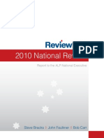 Australian Labor Party Review 2010