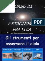 CORSO DI ASTRONOMIA PRATICA