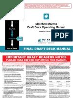 Deck Operating Manual