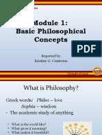 PPT Report Module 1 by KristineContreras