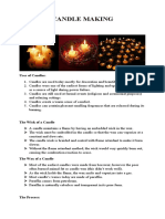 CANDLE MAKING HANDOUT