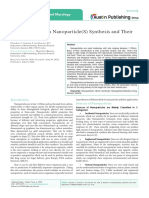 Role of Bacteria in Nanoparticle(S) Synthesis and Their Applications