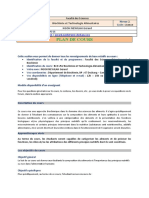 DBC COVID19_Plan cours_Biochimie Alimentaire