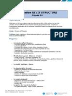 Programme Formation REVIT STRUCTURE Formateur