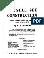 Babani-Crystal Set Construction
