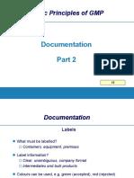 GMP Documentation2