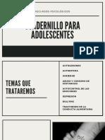 cuadernillo para adolescentes