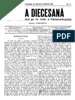 Foaia Diecesană 19 Februarie 1895