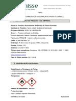 FISPQ Aromatizante Ambiental Air Clean Premisse
