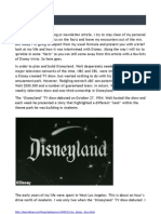 My Disney Story