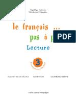manuel de lecture 3 -ème année primaire