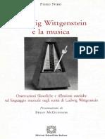 PIERO NIRO - Ludwig Wittgenstein e La Musica - COPIA INTEGRALE - Presentazione Di Brian Mc Guinness