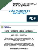 BOAS PRÁTICAS DE LABORATÓRIO (BPL)
