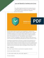 Instalación y uso de ClamAV, el antivirus de Linux
